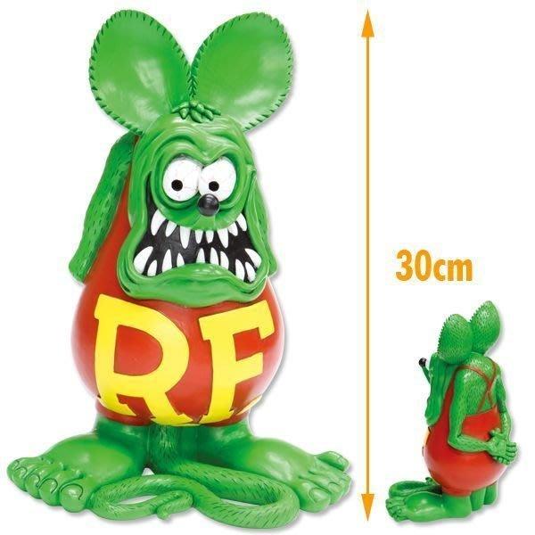 (I LOVE樂多)原版RAT FINK 老鼠芬克巨大公仔 RF值得你收藏