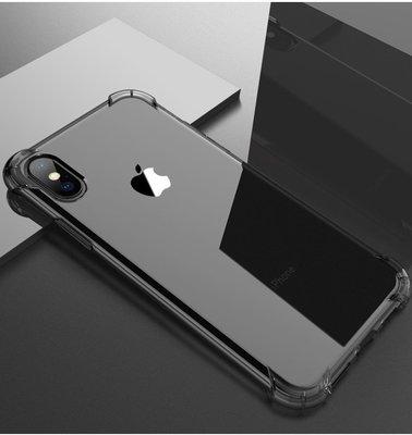 〈日本直送代購〉I Phone X 氣墊手機殼 手機殼 高質感加厚手機殼  氣囊防摔 透明黑款  買手機殼送鋼化膜 免運