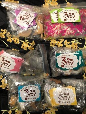 全新 熊猫之穴 正版 休眠動物園扭蛋 zoozoozoo 第1-6彈 總共有36隻  訓覺動物公仔 齊蛋紙
