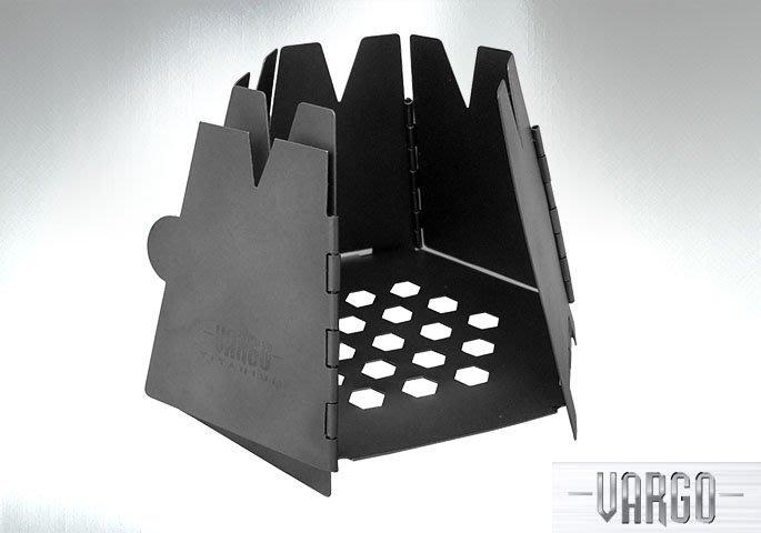 【angel 精品館 】Vargo 六邊形鈦金屬木柴生火爐 VARGO 415