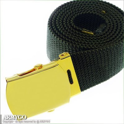 【ARMYGO】海軍陸戰隊綠色軍規腰帶