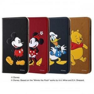 尼德斯Nydus 日本正版迪士尼 立體 皮套 可插卡 手機殼 米奇米妮 唐老鴨 維尼 5.5吋 iPhone7 Plus