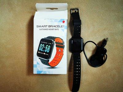 Smart Watch A6 心律-血氧-血壓 智能手錶