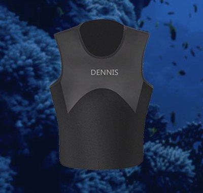 台灣潛水---DENNIS DV-01 男女皆可 3mm 超彈性防寒背心