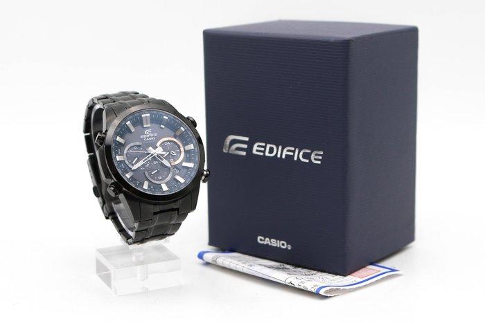【高雄青蘋果3C】CASIO EDIFICE 簡約經典立體時刻魅力賽車電波錶 二手手錶#42300