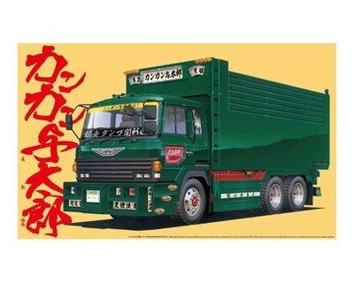 AOSHIMA 1/32 裝飾卡車 kankan 狂太郎 BREAK THROUGH (00272)