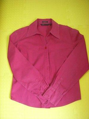 ※桃紅好氣色款合身bossini襯衫