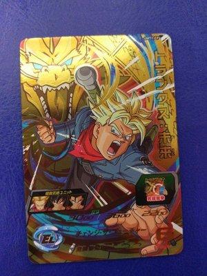 台版 全新正品 七龍珠英雄卡 宣傳卡 CP卡 UMT1-CP4 特南克斯:未來。台灣機台投下。十分好用的卡片。