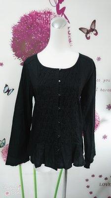 vert dense 黑色上衣(128)
