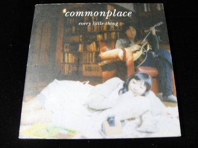 【198樂坊】Every Little Thing - commonplace CD+DVD(Country.日版)CE