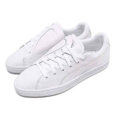*E.P*PUMA BASKET CRUSH EMBOSS 愛心 愛神 全白色 情人節 女鞋 369595-01