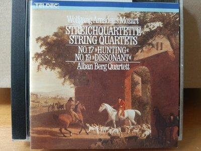 "Alban Berg  qt,Mozart-"" Hunt·Dissonance""Quartets阿爾班貝爾格四重奏團,演繹莫扎特-""狩獵·不和諧""2首弦樂四重奏"