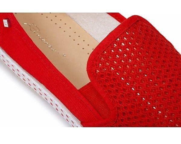 ☆AirRoom☆【現貨】西班牙 鞋 Rivieras SLIP-ON ROUGE 20° 紅色 洞洞 懶人鞋 冠希