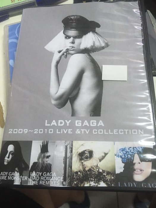 ##非官方 DVD  Lady Gaga   最後機會
