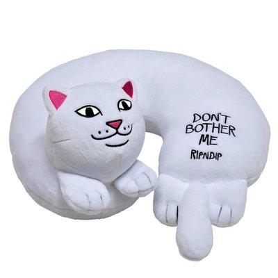 【AYW】RIPNDIP DON'T BOTHER ME 中指貓 頸枕 頭枕 抱枕 靠枕 枕頭 全新 正版 公司貨