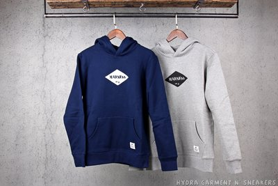 【HYDRA】Madness Pullover Hoodie Mdns No6 帽T 菱形Logo【MDNS040】