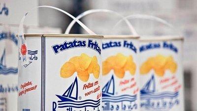 空運來台!大桶裝!韓國空運來台! 西班牙 Bonilla a la vista 油漆桶洋芋片