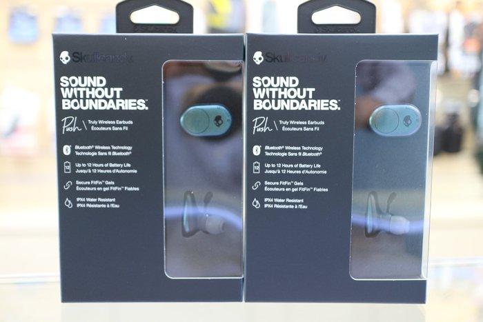 【日產旗艦】骷髏糖 Skullcandy PUSH S2BBW-L638 亮光綠 藍芽耳機 入耳式 無線耳機 台閔公司貨