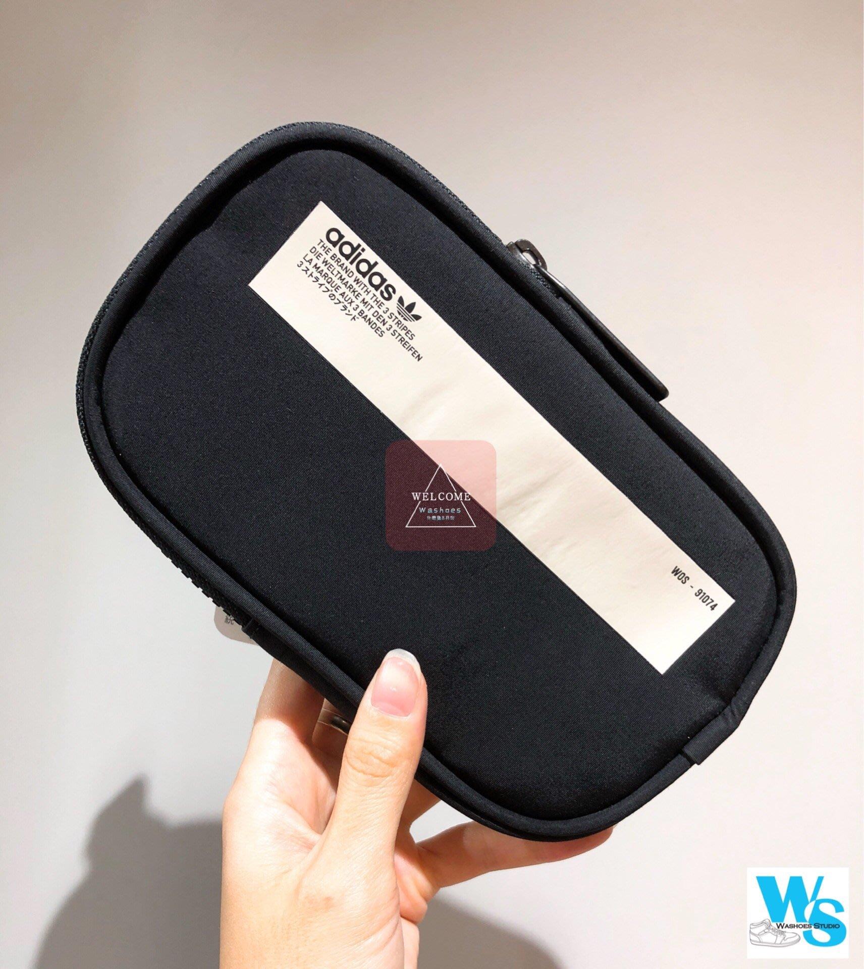 7b8d2e225 Washoes adidas NMD Pouch Bag 黑色DH3088 小掛包包包腰包方形包手機包 ...
