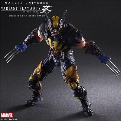 漫威X戰警 PA改 Wolverine 金剛狼 可動手辦模型