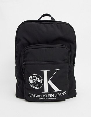 代購Calvin Klein Jeans Established 1978 graphic back休閒時尚後背包