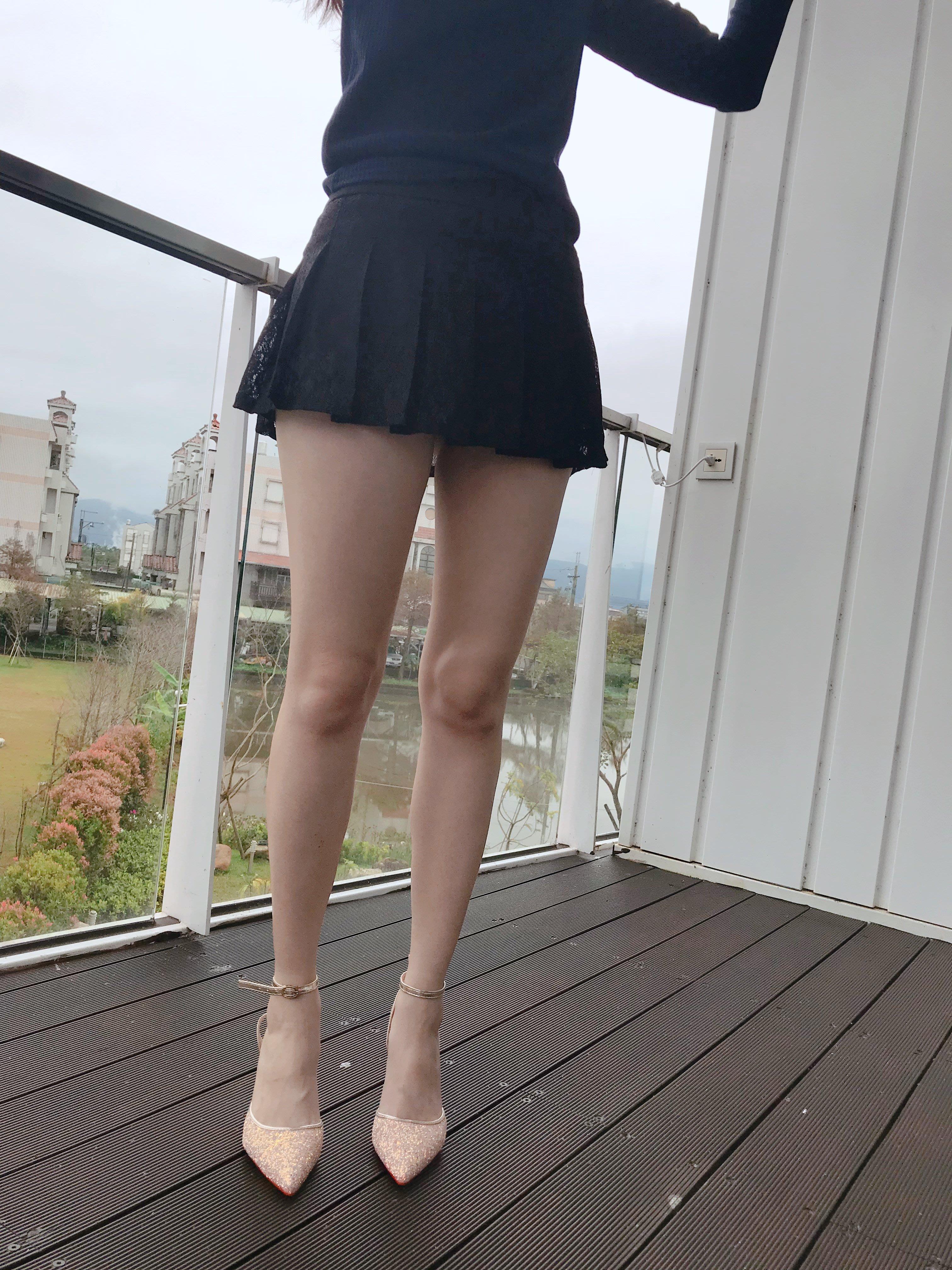 【買家實拍】新款女裝 百搭蕾絲百褶裙性感時尚火辣超短迷你裙A字裙 2色 813