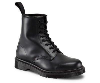 Dr.Martens 馬丁鞋 馬汀鞋 經典1460 MONO 8孔  全黑【 BRITISH LOOK 】