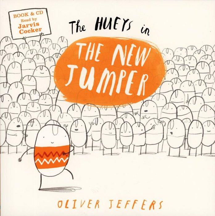 *小貝比的家*THE HUEYS IN THE NEW JUMPER /平裝書+CD/3~6歲