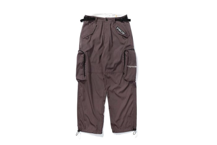 OVERLORD X PRETTYNICE PNOV Cargo Pants-Grey 運動 口袋 風褲