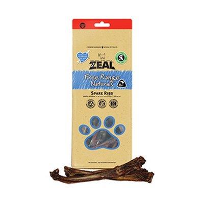 SNOW的家【訂購】Zeal 真致 天然紐西蘭寵物點心 風乾零食 牛肋骨(分段) 200g (11330015