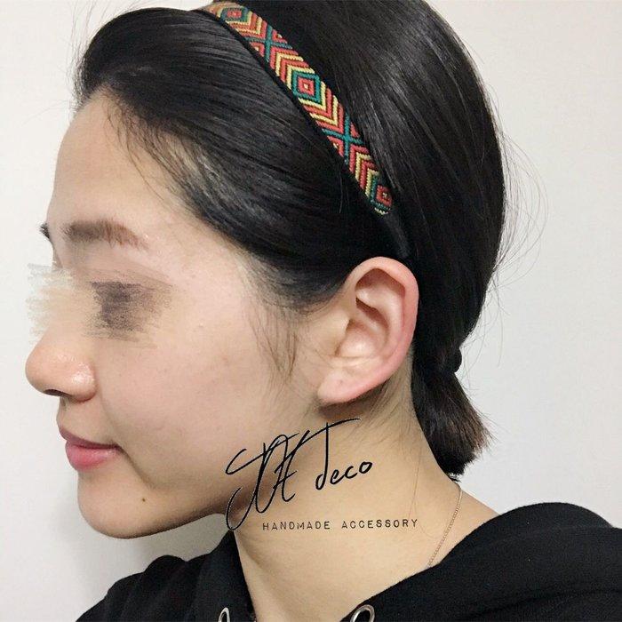 JOE deco▫️手作彩色髮帶 買1送1