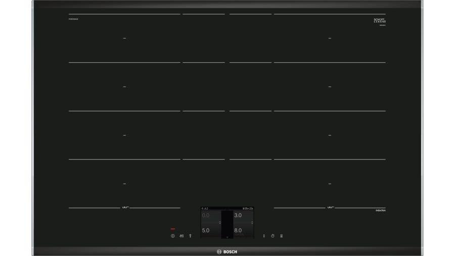 【嘉家廚具】德國BOSCH感應爐☆PXY875KW1E☆Flex感應爐☆上裝式☆220V☆17段火力☆全省免運費☆