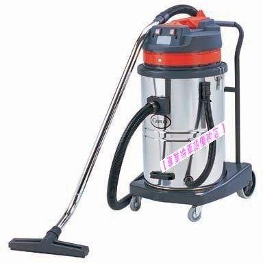 【專業洗車設備の店 】工業用乾濕兩用雙馬達吸塵器-全配-特價優惠