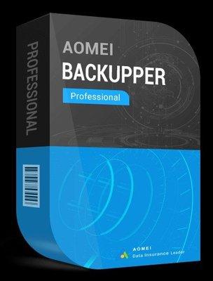 【易霖-軟體】AOMEI Backupper Professional 完整、可靠且快速的Win PC備份軟體 最新