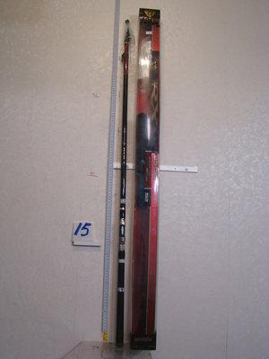 采潔 日本二手外匯釣具GAMAKATSU1.5-53  17.5尺 磯釣竿 前打竿18 筏竿中古二手 R15