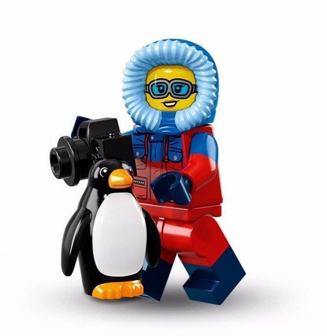 現貨【LEGO 樂高】美國正品 積木/ Minifigures人偶包系列: 16代 71013 單一人偶: 野生攝影師