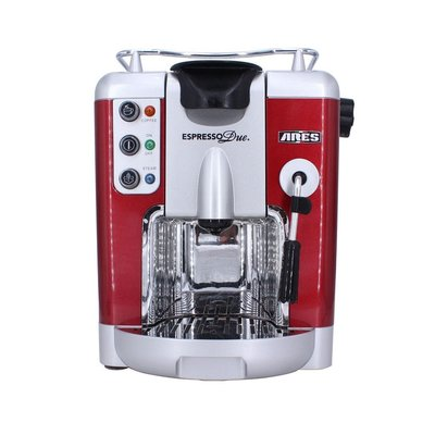 義大利 時尚 ARES 義式 膠囊 咖啡機 紅色(Espresso Due, 20bar )