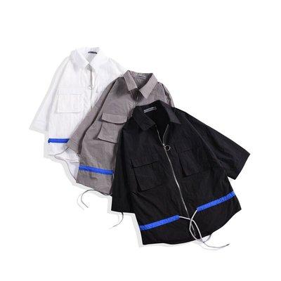 FINDSENSE品牌 韓版 日系 新款 潮男防曬服 夾克 修身薄外套 休閑男上衣