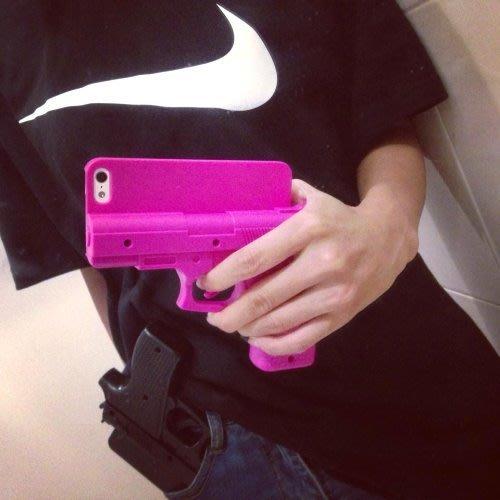 iPhone6 6s iPhone5 5s 歐美個性手槍手機殼 超搶眼手槍造型 無限扣扳機 啪啪 店長推薦