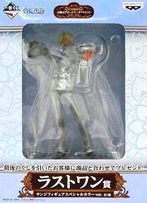 日本正版 一番賞 海賊王 航海王 目標蛋糕島 最後賞 香吉士 特別色 模型 公仔 日本代購