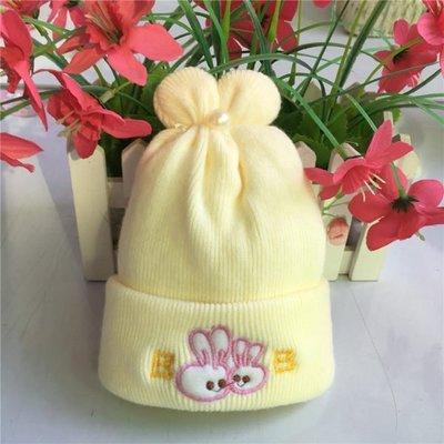 PS樂【CJ283】特柔寶寶雙層嬰兒帽新生兒胎帽卡通刺繡童帽初九冬天必備仿羊絨帽 新北市