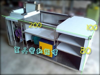 ~~東鑫餐飲設備~~全新 早餐煎台吧台 / 靜電機 / 油炸機 / 馬達 / 煙罩 / 不鏽鋼 / 白鐵