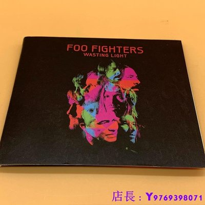 全新CD音樂 噴火戰斗機 Foo Fighters Wasting Light CD  專輯