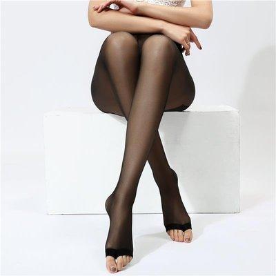 4雙魚嘴襪夏透明隱形肉色絲襪露腳趾連褲襪女性感防勾絲打底襪子