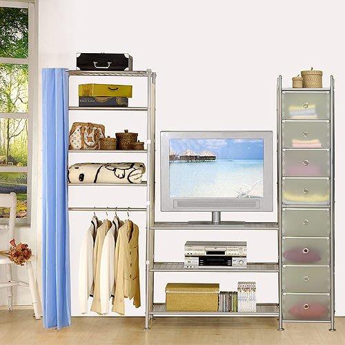 【中華批發網DIY家具】D-64-22-W4型60+90+pp電視衣櫥置物櫃-(前罩)不織布