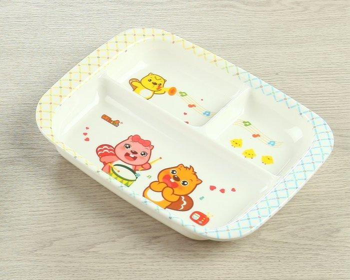 兒童餐盤分格卡通寶寶無毒餐具家用可愛套裝防摔幼兒園盤子創意