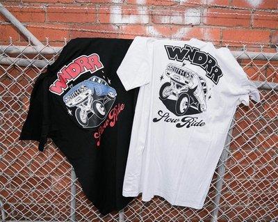 Cover Taiwan 官方直營 Wndrr 澳洲 Lowrider 嘻哈 跳跳車 短袖 短T 黑色 白色 (預購)
