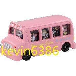 東京都-TOMICA 火柴盒小汽車PEANUTS GIRLS BUS Dream 史努比粉紅巴士 現貨