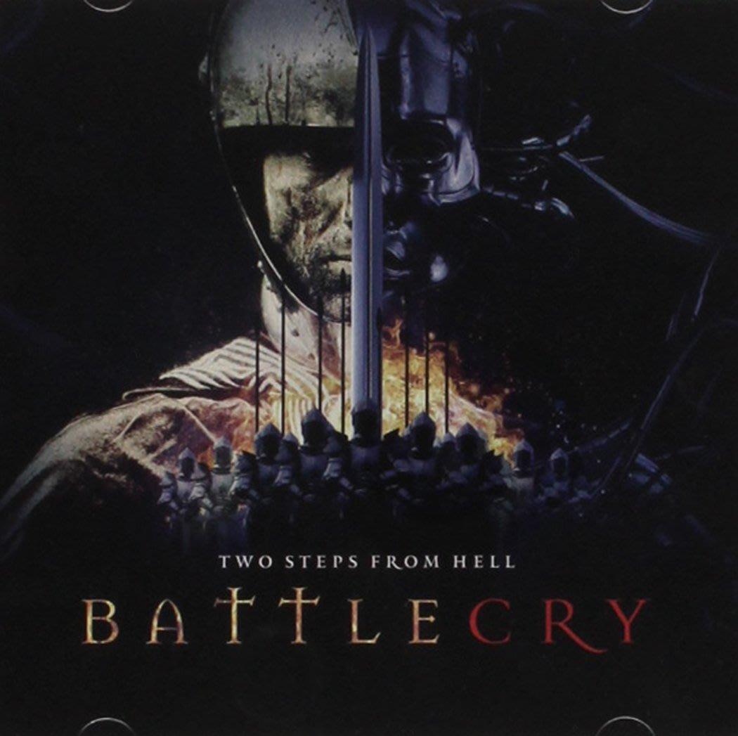 正版2CD電影預告片配樂《Two Steps from Hell》/Battlecry 全新未拆