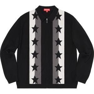 【美國鞋校】預購 SUPREME SS20 Stars Zip Up Sweater 外套